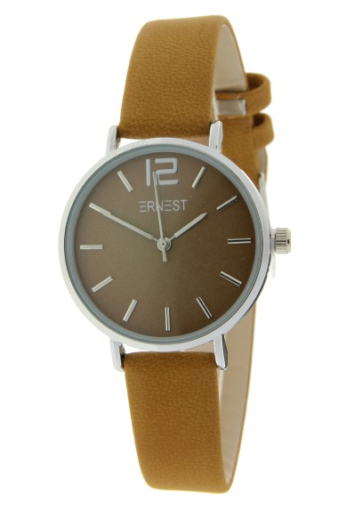 Ernest horloge Silver-Cindy-Mini FW-18 mostard
