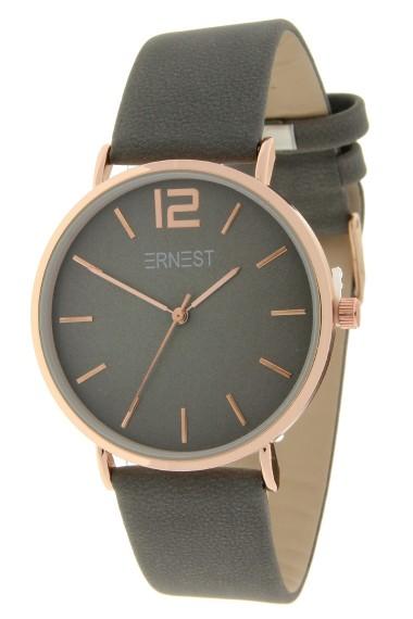 Ernest horloge Rosé-Cindy-FW18 donkergrijs
