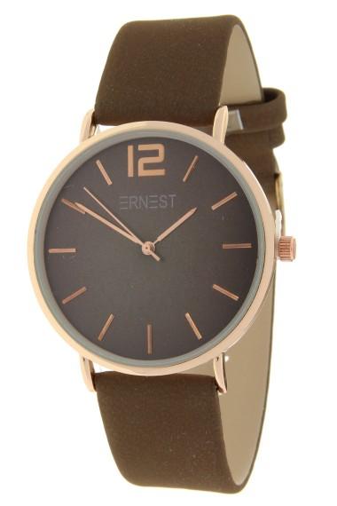 Ernest horloge Rosé-Cindy-FW18 mocca