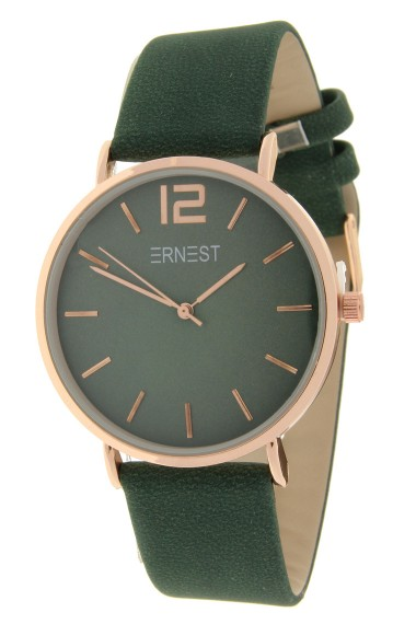 Ernest horloge Rosé-Cindy-FW18 donkergroen