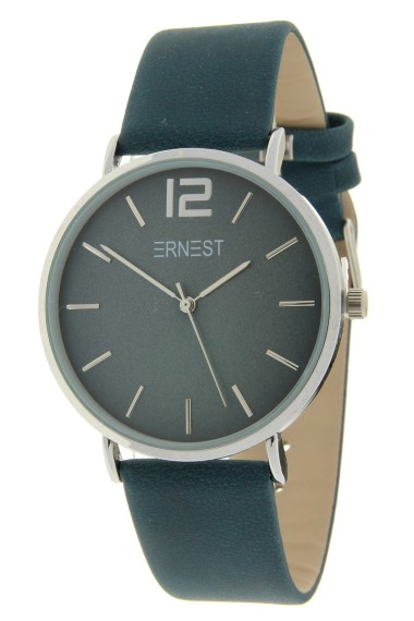 Ernest horloge Silver-Cindy-FW18 donkerblauw
