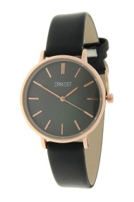 Ernest horloge Rosé-Cindy-Medium FW18 zwart