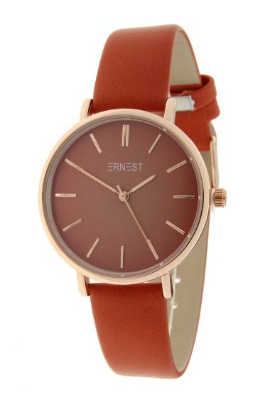 Ernest horloge Rosé-Cindy-Medium FW18 brick