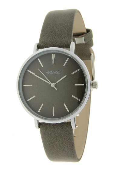 Ernest horloge Silver-Cindy-Medium FW18 grijs-taupe