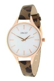 """Ernest horloge """"Pardo"""" bruin"""