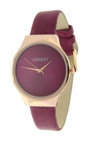 "Ernest horloge ""New-Tosca"" donker fuchsia"