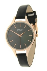 "Ernest horloge ""Rosé-Pardo"" zwart"