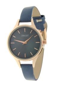 """Ernest horloge """"Rosé-Pardo"""" blauw"""