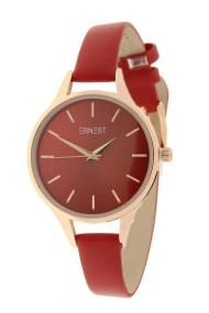 "Ernest horloge ""Rosé-Pardo"" donkerrood"