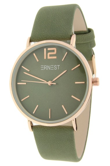 Ernest horloge Rosé-Cindy-FW18 legergroen