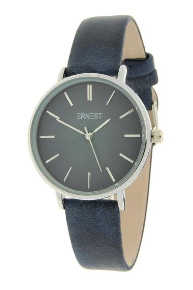 Ernest horloge Silver-Cindy-Medium FW18 donkerblauw