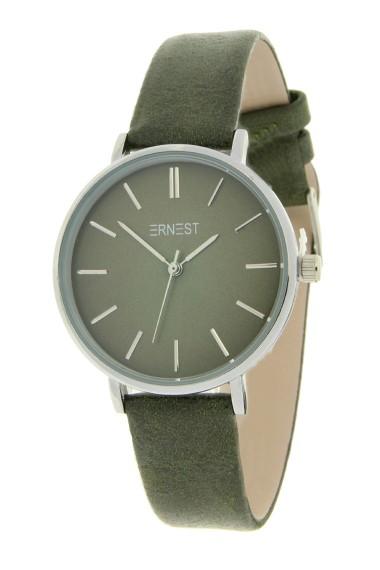 Ernest horloge Silver-Cindy-Medium FW18 diepgroen