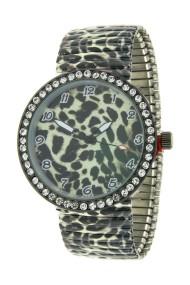 """Ernest horloge """"Panther Stones"""" beige"""