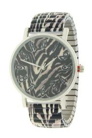 """Ernest horloge """"Jungle"""" zwart"""