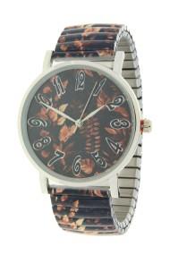 """Ernest horloge """"Autumn"""" zwart"""
