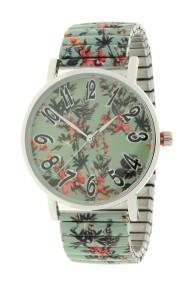 "Ernest horloge ""Flowermix"" mint"