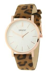 "Ernest horloge ""Rosé-Andrea-Leopard"" camel"