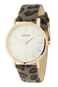 "Ernest horloge ""Rosé-Andrea-Leopard"" taupe"