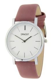 "Ernest horloge ""Silver-Andrea"" donkeroudroze"