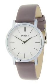 "Ernest horloge ""Silver-Andrea"" taupe"