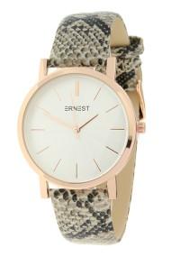 """Ernest horloge """"Rosé-Andrea-Snake"""" beige"""