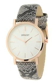 """Ernest horloge """"Rosé-Andrea-Snake"""" grijs"""