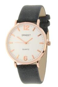 """Ernest horloge """"Rosé-Misty"""" zwart"""