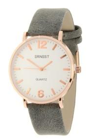 """Ernest horloge """"Rosé-Misty"""" grijs"""
