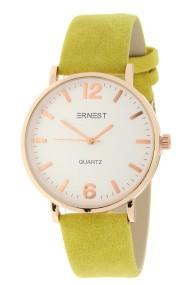 """Ernest horloge """"Rosé-Misty"""" mostard"""