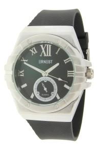 """Ernest horloge """"Cooper"""" zwart-zilver"""