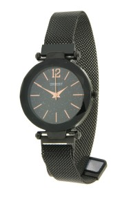 "Ernest horloge ""Fancy-Magnet"" zwart-zwart"