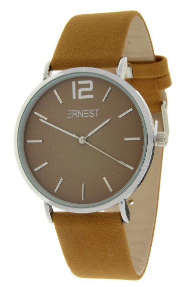 Ernest horloge Silver-Cindy-FW18 mostard