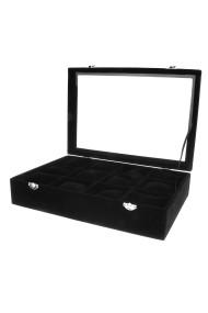 """Display """"Luxury box"""" zwart"""