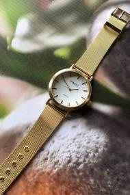 "Ernest horloge ""Thalix"" goud"