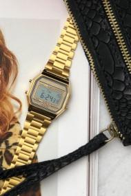 """Ernest horloge """"Old Skool"""" goud"""