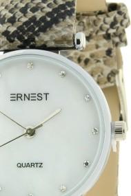 "Ernest horloge ""Serpenty"" beige"