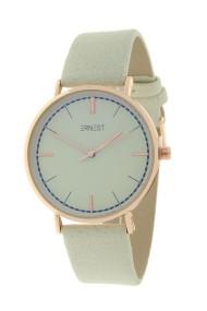 """Ernest horloge """"Rosé Lisa Medium"""" zand"""