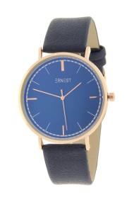"Ernest horloge ""Rosé Lisa Medium"" donkerblauw"