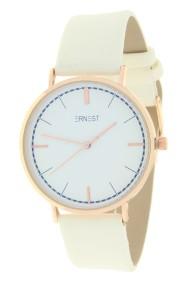 """Ernest horloge """"Rosé Lisa Large"""" wit"""