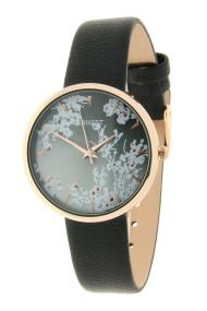 """Ernest horloge """"Rosé-Blossom"""" zwart"""