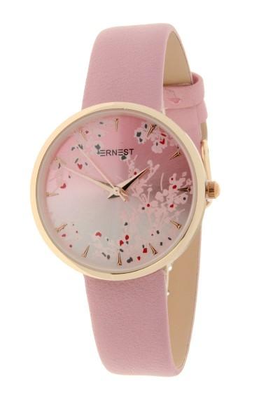 "Ernest horloge ""Rosé-Blossom"" lichtroze"