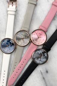 "Ernest horloge ""Rosé-Blossom"" lichtgrijs"