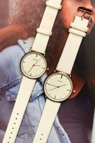 "Ernest horloge ""Rosé Lisa Medium"" wit"