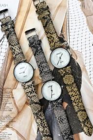 """Ernest horloge """"Serpenty"""" grijs"""