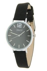 "Ernest horloge ""Autumn-Silver-Cindy-Mini"" zwart"