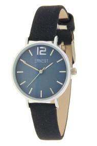 "Ernest horloge ""Autumn-Silver-Cindy-Mini"" donkerblauw"