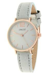 Ernest horloge Rosé-Cindy-Mini SS-18 lichtgrijs