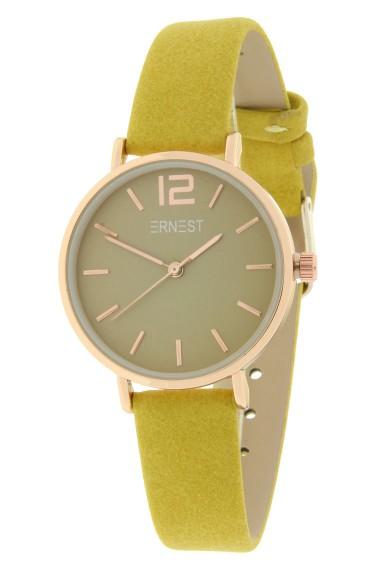 Ernest horloge Rosé-Cindy-Mini SS19 mostard