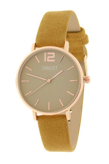 Ernest horloge Rosé-Cindy-Medium SS19 lichtbruin