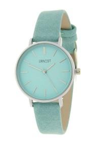Ernest horloge Silver-Cindy-Medium SS19 zacht turquoise